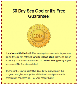 sexgodblueprint guarantee